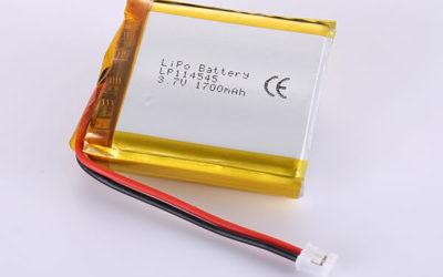 Hot Selling LiPo Batteries LP114545 1700mAh 6.29Wh
