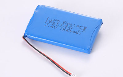 Standard Rechargeable Hot Selling LiPo Batteries LP313760 2S 900mAh 6.66Wh