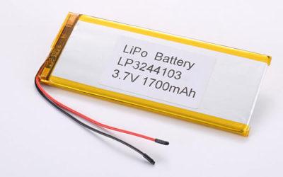 Hot Selling LiPo Batteries LP3244103 1700mAh 6.29Wh