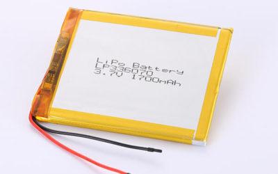 Hot Selling LiPo Batteries LP336070 1700mAh 6.29Wh