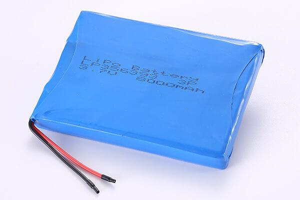 Hot Selling Multipurpose Rechargeable LiPo Batteries LP356393 3P 8000mAh 29.6Wh