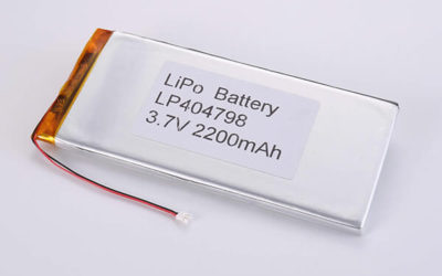 Hot Selling LiPo batteries LP404798 3.7V 2200mAh with 8.14Wh
