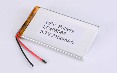 Hot Selling LiPo batteries LP405085 3.7V 2100mAh with 7.77Wh