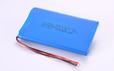Hot Selling Rechargeable LiPo Batteries LP4360113 2S 3400mAh 25.16Wh