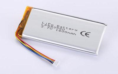 Hot Selling LiPo Batteries LP553580 1800mAh 6.66Wh