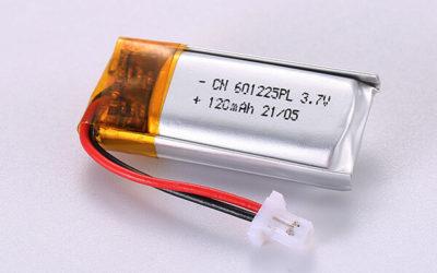Hot Selling Standard LiPo Batteries LP601225 120mAh 0.444Wh
