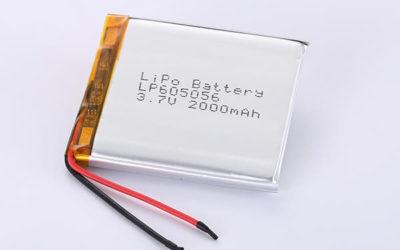 Hot Selling LiPo Batteries LP605056 2000mAh 7.4Wh
