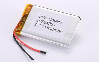 Hot Selling LiPo Batteries LP664261 1800mAh 6.66Wh