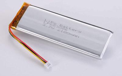 Hot Selling LiPo Batteries LP683086 2100mAh 7.77Wh