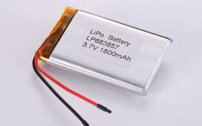 Hot Selling LiPo Batteries LP683857 1800mAh 6.66Wh
