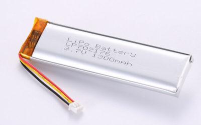 Hot Selling LiPo Batteries LP702176 1300mAh 4.81Wh