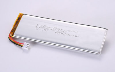 Standard Rechargeable Hot Selling LiPo Batteries LP8542136 6000mAh 22.2Wh