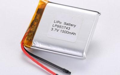 Hot Selling LiPo Batteries LP953743 1500mAh 5.55Wh