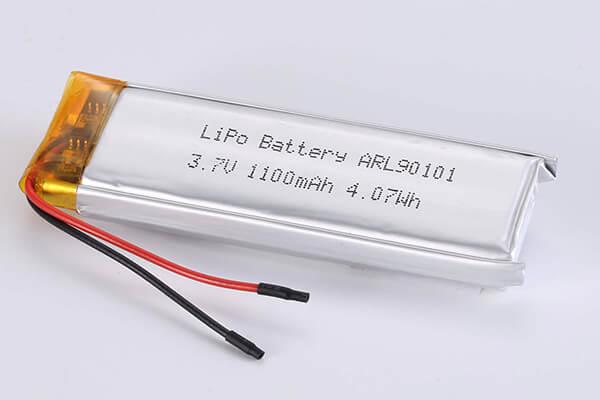 Hot Selling LiPo Batteries LPARL90101 1100mAh 4.07Wh