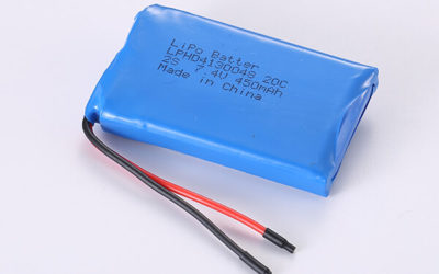 Rechargeable Hot Selling LiPo Batteries LPHD4130048 20C 2S 450mAh 3.33Wh