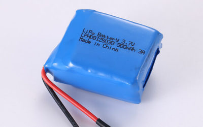 Standard Rechargeable Hot Selling LiPo Batteries LPHD8125030 3A 900mAh 3.33Wh