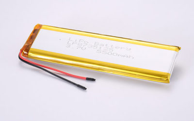 Standard Rechargeable Hot Selling LiPo Batteries LP8735125 5500mAh 20.35Wh