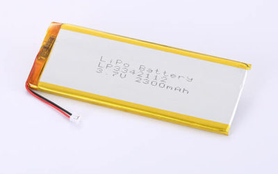 Rechargeable Hot Selling LiPo Batteries LP3342112 2301mAh 8.5137Wh