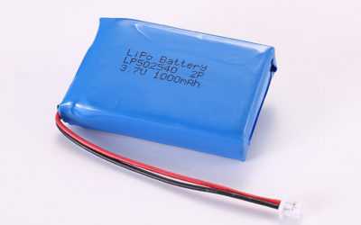 3.7V Hot Selling Multipurpose Rechargeable LiPo Batteries With Molex 51021-0200 LP502540 2P 1000mAh 3.7Wh