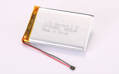 3.7V Hot Selling Multipurpose Rechargeable LiPo Batteries With Molex 78172-0002 LP704060 1800mAh 6.66Wh