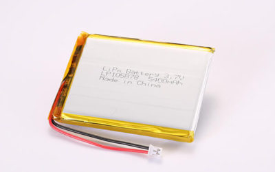 Hot Selling Multipurpose Rechargeable LiPo Batteries with JST PHR-2 LP105878 5400mAh 19.98Wh