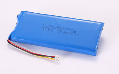 3.7V Rechargeable Hot Selling LiPo Batteries with Molex 51021-0300 LP423282 2900mAh 10.73Wh