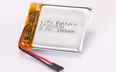 Hot Selling Rechargeable LiPo Batteries LP302530 180mAh 0.67Wh