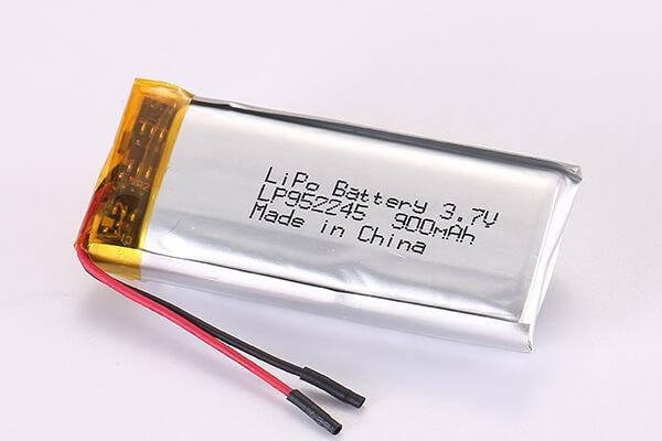 3.7V Rechargeable LiPo Batteries LP952245 900mAh 3.33Wh