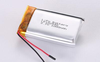 3.7V Rechargeable LiPo Batteries LP102540 1000mAh 3.7Wh