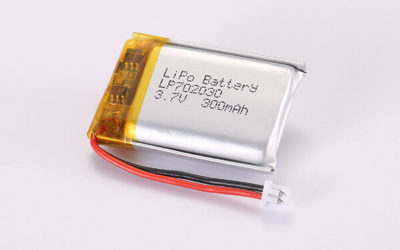 3.7V Rechargeable Hot Selling LiPo Batteries With Molex 51021-0200 LP702030 300mAh 1.11Wh